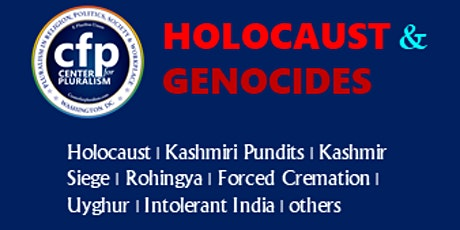 Holocaust and Genocides reflections tickets