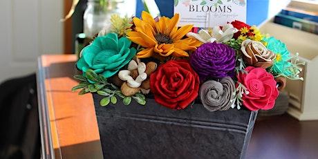 Wood Flower arrangement making class tickets