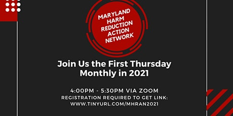 MD Harm Reduction Action Network Monthly Meeting tickets
