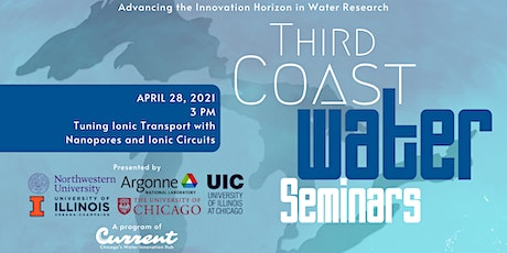 Third Coast Water Seminars: Tuning Ionic Transport tickets