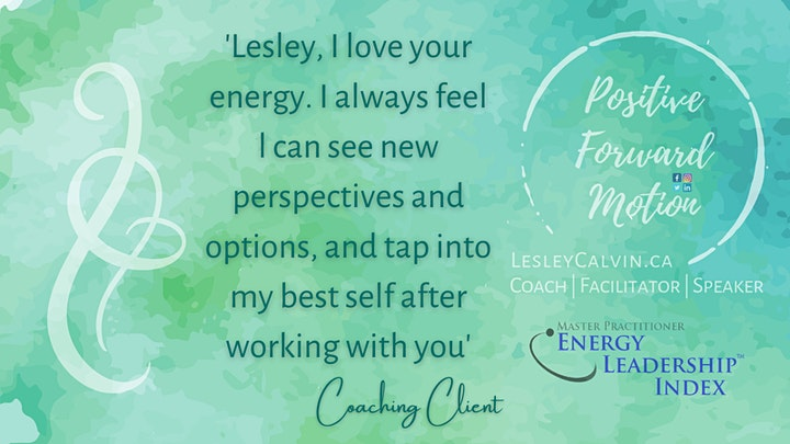 The Energy of your Life, Work ...in the COVID era! image