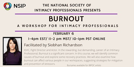 BURNOUT: A Workshop for Intimacy Professionals tickets