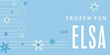 Frozen Fun & Cookies with Elsa tickets