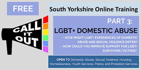 Call It Out Training : LGBT+ Domestic Abuse tickets