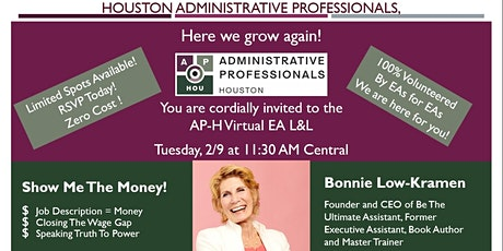 Houston Executive Assistant Virtual Lunch & Learn - Free (2021 February) tickets