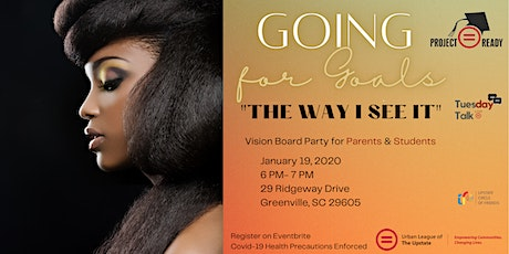 Project Ready & Mentor 5: Going For Goals 'The Way I See It' tickets