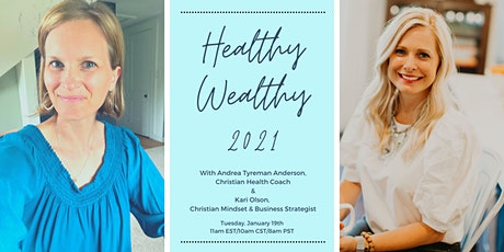 Healthy Wealthy New Year 2021 tickets
