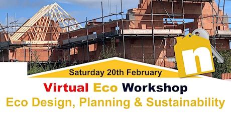 Virtual Workshop - Design, Planning & Sustainability tickets