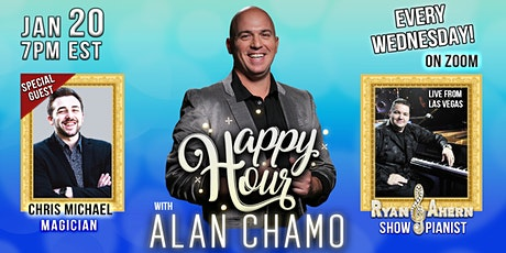 Happy Hour with Alan Chamo | featuring Magician Chris Michael tickets