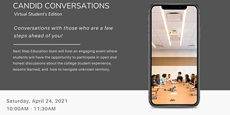 Virtual Student's Candid Conversations tickets