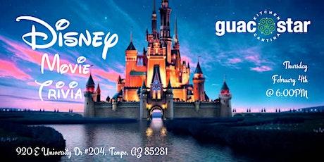 Disney Movie Trivia at Guac Kitchen and  Cantina tickets