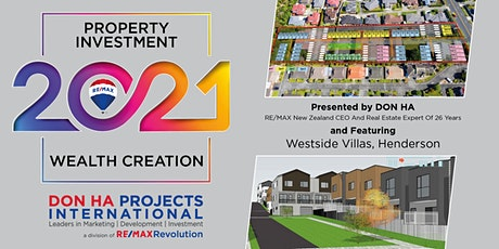 Property Investment in 2021 - featuring Westside Villas tickets