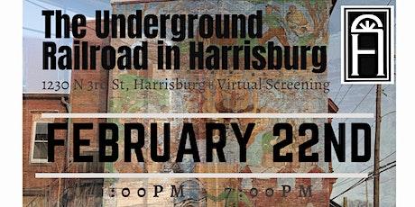 Fourth Monday Program: The Underground Railroad in Harrisburg tickets