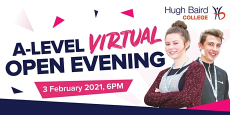 A-level Virtual Open Evening tickets
