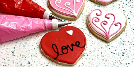 Valentine's Cookie Decorating Class tickets