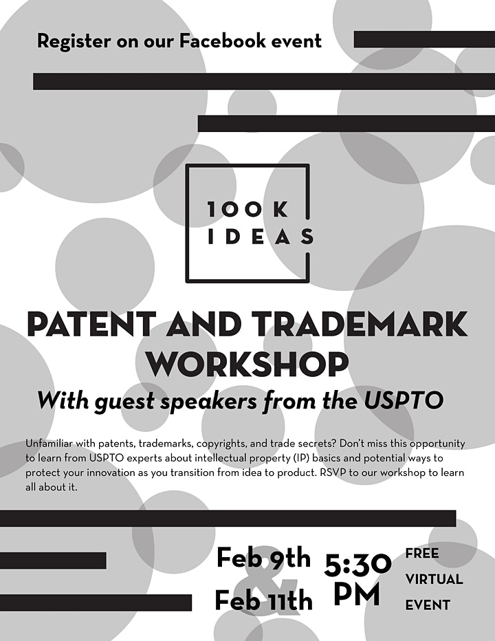 Patent and Trademark Workshop image