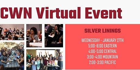 CDFI Women's Network Virtual Event -  Silver Linings tickets