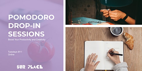 Pomodoro Drop-in Sessions: Boost Your Productivity and Creativity [EN/FR] tickets