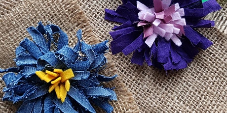 Rag Rug Flower Brooch with Agnis Smallwood tickets