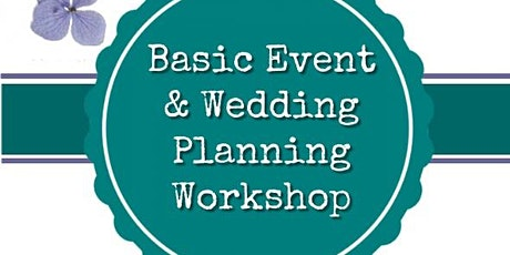 Event and Wedding Planning Workshop tickets