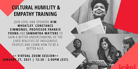 Cultural Humility and Empathy Training tickets