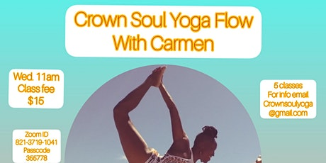 Crown Soul Yoga Flow Tickets