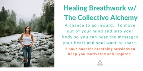1 Hour Healing Breathwork Booster tickets