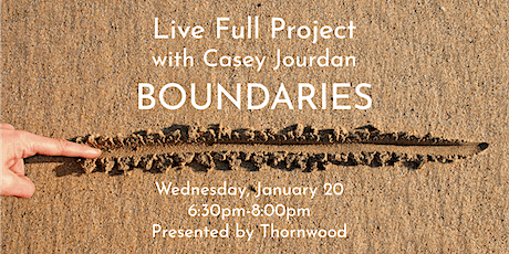 Live Full Project: BOUNDARIES tickets