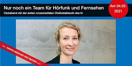 Nur noch ein Team für Hörfunk und Fernsehen – Andrea Schafarczyk zu Gast tickets