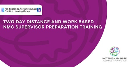 Two Day Distance and Work Based NMC  Supervisor Preparation  Training tickets