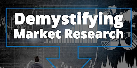 Demystifying  Market Research tickets