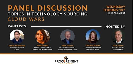 Topics In Technology Panel Discussion - Cloud Wars tickets