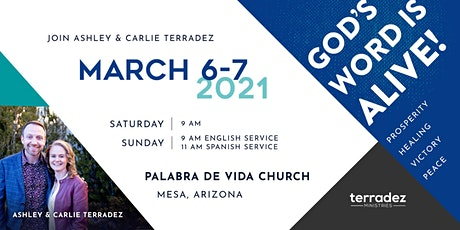 Ashley & Carlie Terradez at Palabra de Vida Church tickets