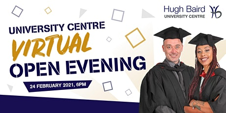 University Centre Virtual Open Evening tickets