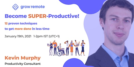 Become SUPER-Productive! tickets
