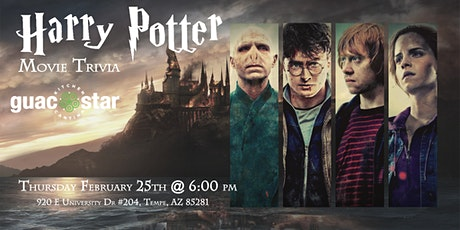 Harry Potter Movies Trivia at Guac Star Kitchen and Cantina tickets