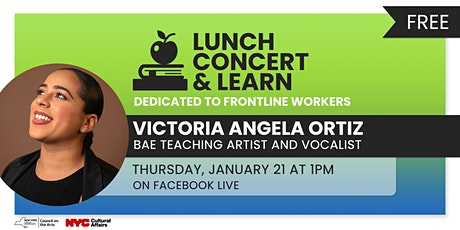 Lunch, Concert, and Learn - Vicky Ortiz tickets