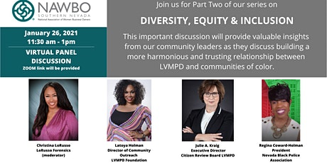 NAWBO Southern Nevada Presents - Diversity, Equity & Inclusion Part Two tickets