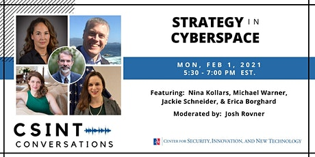 CSINT Conversations: Strategy in Cyberspace tickets