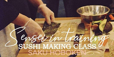 Saku Sushi Making Class tickets