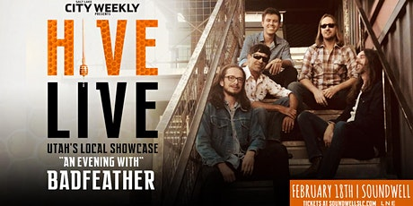 HIVE LIVE ft Badfeather tickets