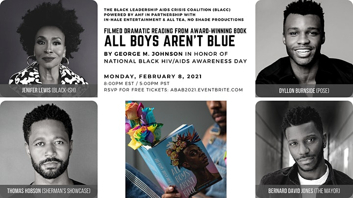 BLACC & iN-Hale Ent. present ALL BOYS AREN'T BLUE by George M. Johnson image
