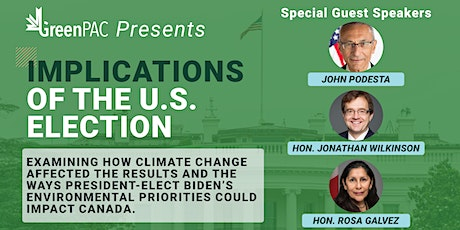 GreenPAC Presents: Implications of the U.S. Election tickets