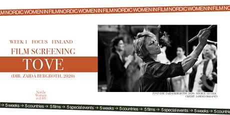 Nordic Women in Film /BOUNDLESS ART, BOUNDLESS SUCCESS /Film Screening TOVE tickets