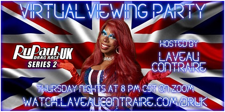 Rupaul's Drag Race UK S2 Virtual Viewing Party tickets