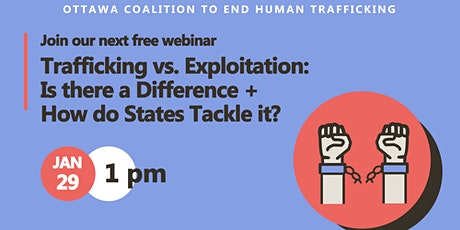 Trafficking vs. Exploitation: Is there a difference? tickets