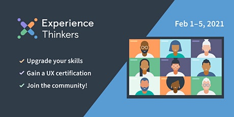 User Experience (UX) Certification and Courses - FEBRUARY 2021 tickets