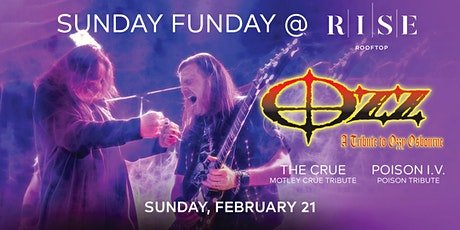 Ozz - A Tribute to Ozzy Osbourne @ RISE Rooftop - Sunday February 21st tickets