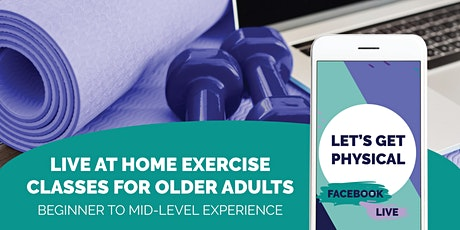 Live at Home Exercise Class For Older Adults tickets