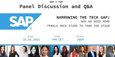 Women at SAP Panelist Discussion tickets